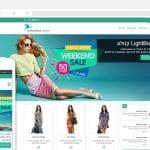 תבנית e-commerce לבניית חנויות וירטואליות