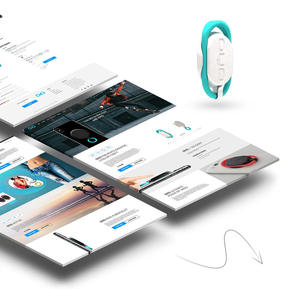 עיצוב UI לחנות וירטואלית OYO
