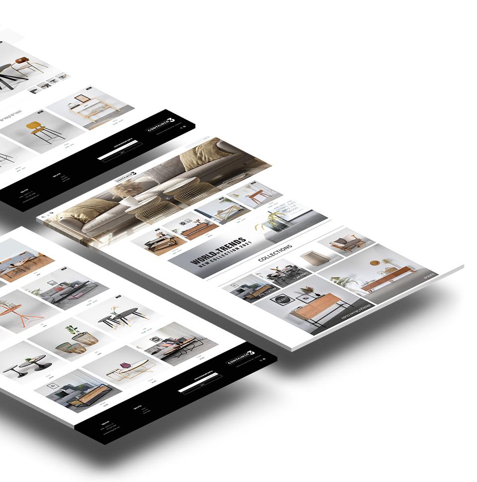 חנות אינטרנטית לעיצוב הבית