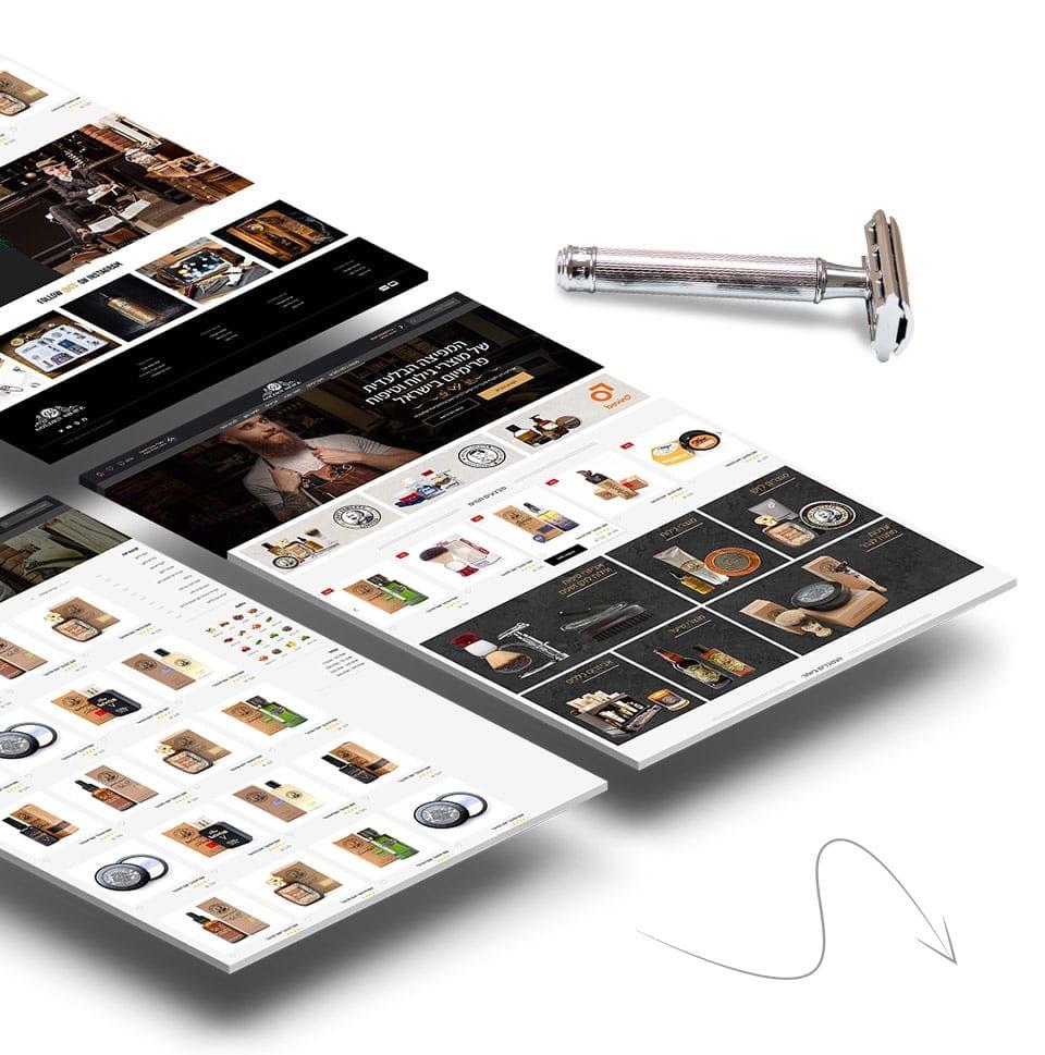 בניית חנות וורדפרס למספרות ומוצרי שיער
